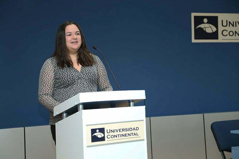 Melissa Vargas Ladd - jefa de Promoción Educativa de la BVL