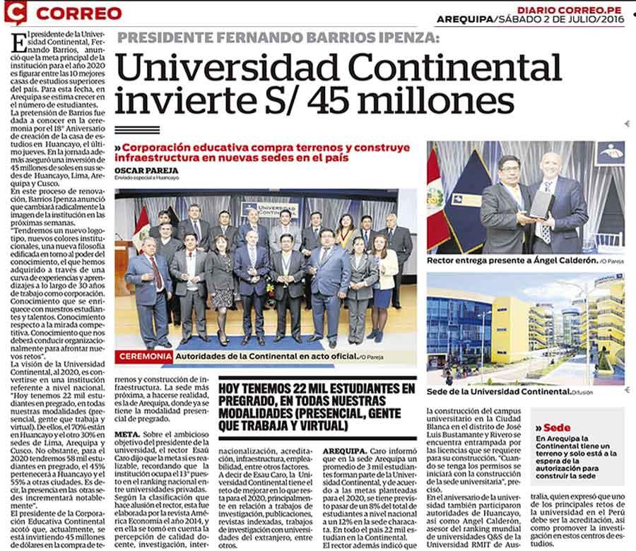 universidad-continental-invierte-45-millones-soles