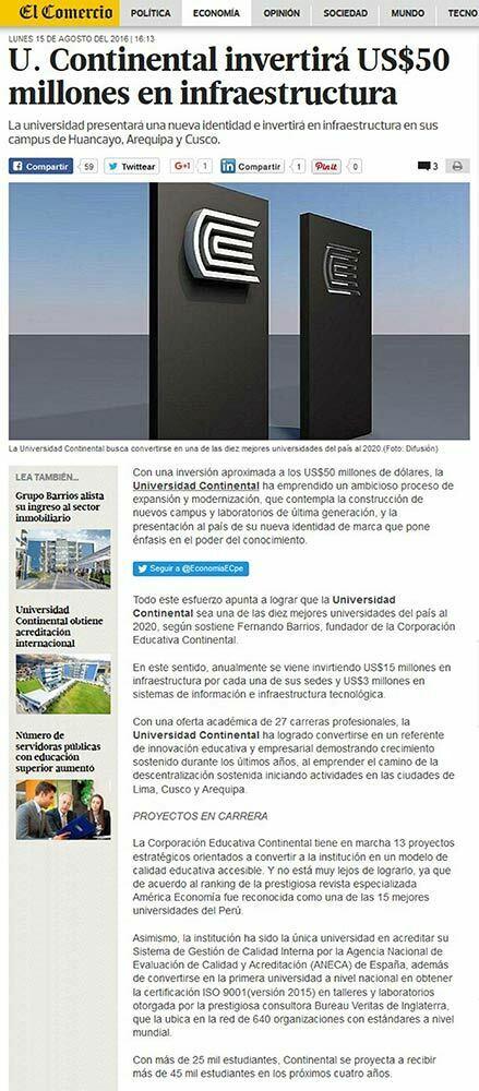 u-continental invertira-50-millones-en-infraestructura
