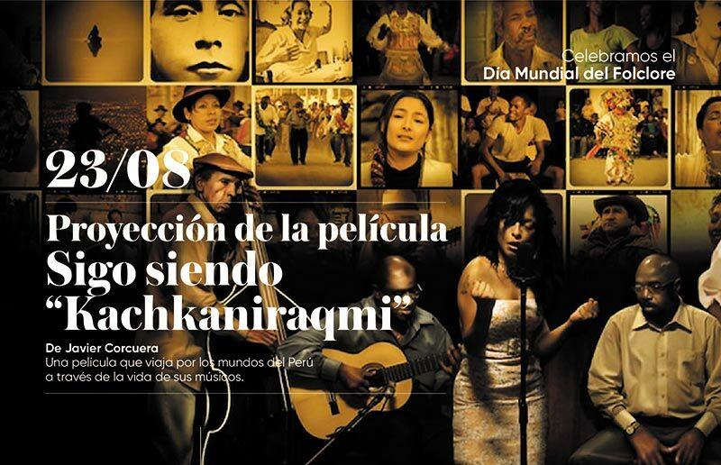 UC celebra día del folclore con proyección de cine
