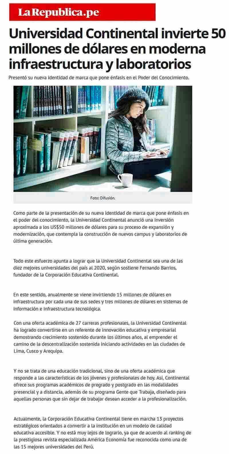 universidad-continental-invierte-50-millones-de-dolares-en-moderna-infraestuctura-y-laboratorios