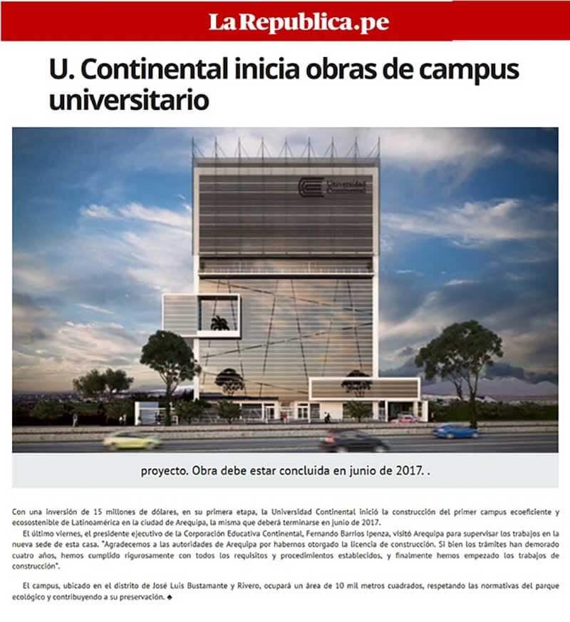 U-Continental-inicia-obras-de-campus