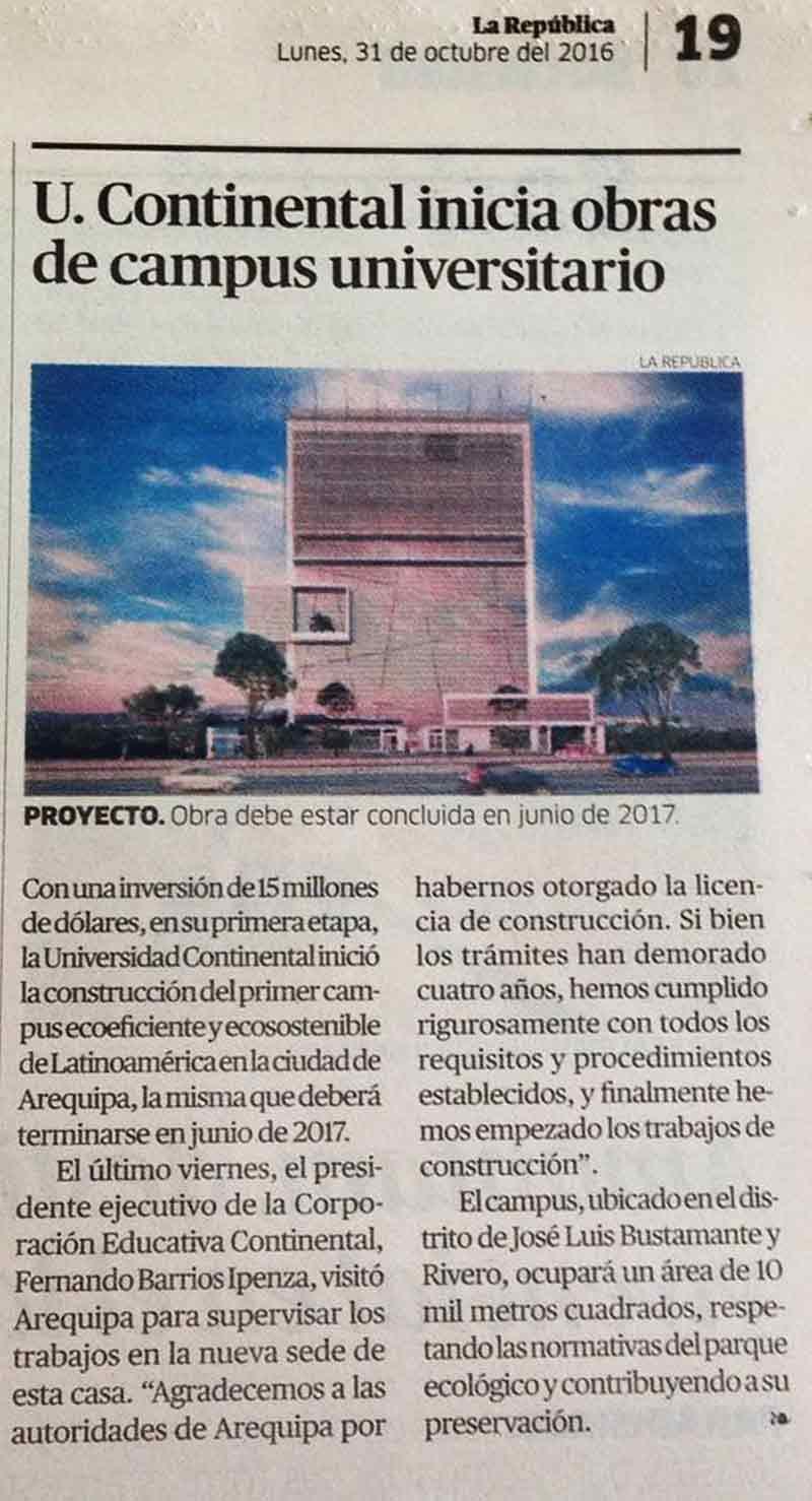 ucontinental-inicia-obras-de-campus-univesitario