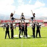 Presentación del grupo de cheerleaders.