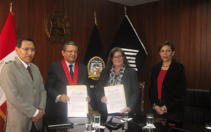 Universidad Continental y Poder Judicial firman convenio de cooperación institucional en Arequipa
