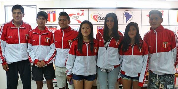 Estudiantes Continental representaron al Perú en Campeonato Sudamericano de Marcha 2018 en Sucúa, Ecuador