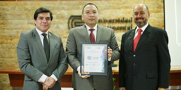 Universidad Continental firma importante convenio con IBEC