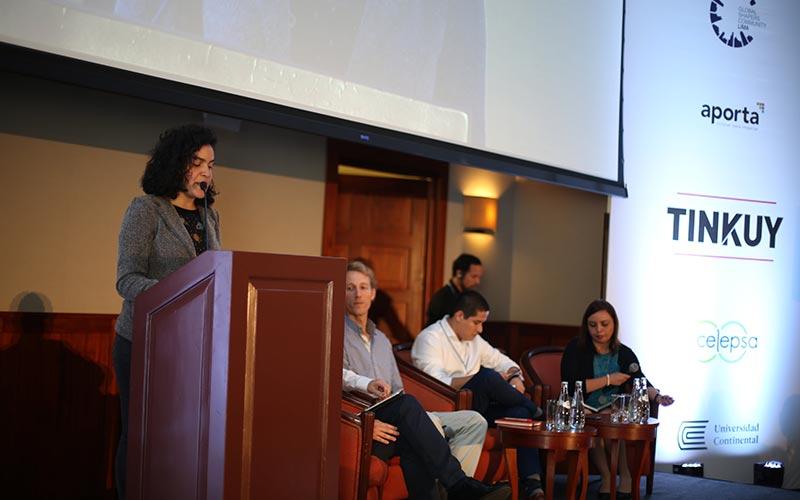 Universidad Continental participó en conversatorio Tinkuy 2018