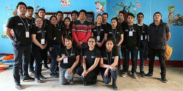 U. Continental inaugura primera biblioteca para niños en la comunidad de La Breña
