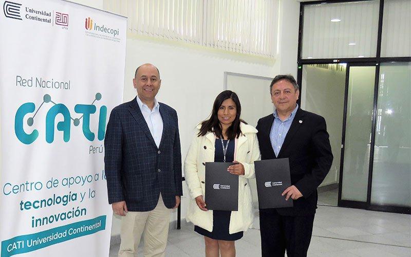 U. Continental apertura Centro de Apoyo a la Tecnología e Innovación para el uso de la propiedad intelectual