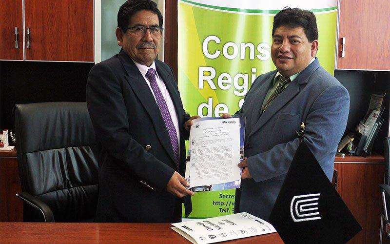 Universidad Continental integra Consejo Regional de Salud de Junín