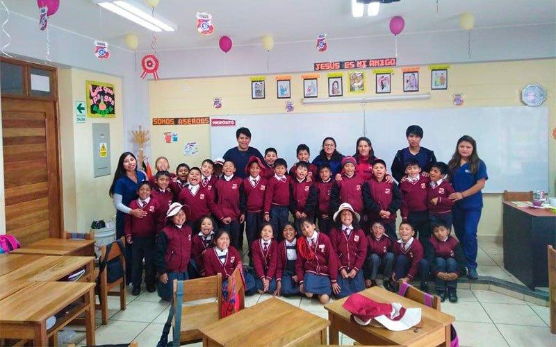 Estudiantes de la Universidad Continental incentivan desarrollo de inteligencia emocional en más de 200 niños