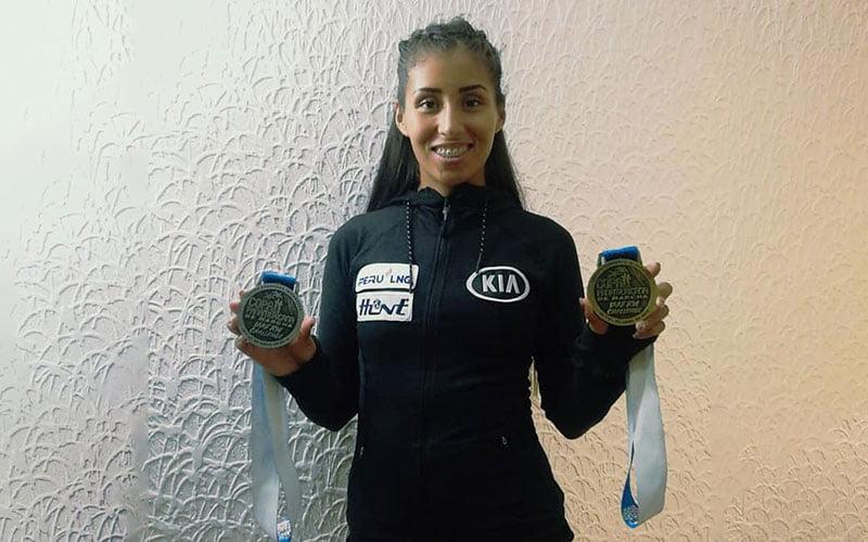 Estudiante Kimberly García clasificó a Juegos Olímpicos Tokio 2020