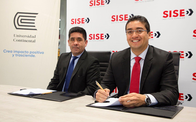 Egresados de SISE podrán continuar sus estudios en la Universidad Continental