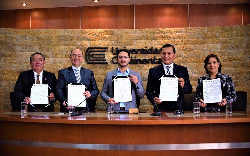 Universidad Continental firma convenio para potenciar microempresas de Junín