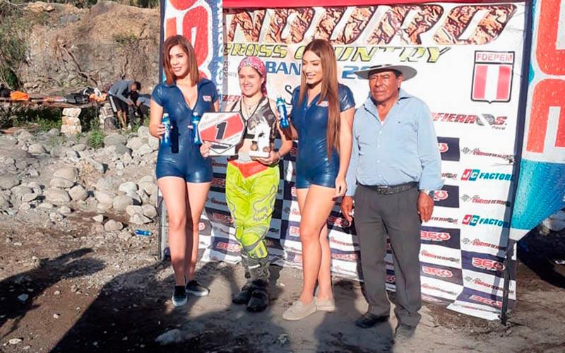 Estudiante de la Universidad Continental ganó campeonato nacional en Quad Cross