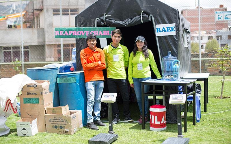 Universidad Continental realizó nueva edición del Reciclatón