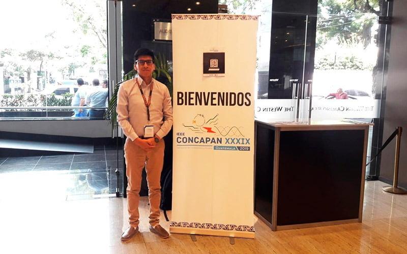 Estudiante de Ingeniería Mecatrónica participó en CONCAPAN 2019