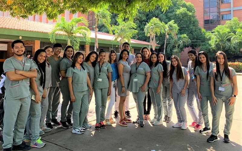 Estudiantes de la carrera de Psicología realizan internado en Colombia