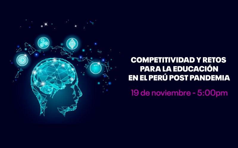 """""""Continental Digital"""" abordará competitividad y retos para la educación superior en el Perú post pandemia"""