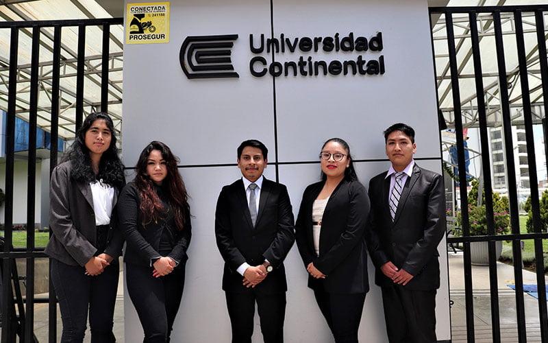 Estudiantes Continental destacan en Moot Court de Propiedad Intelectual