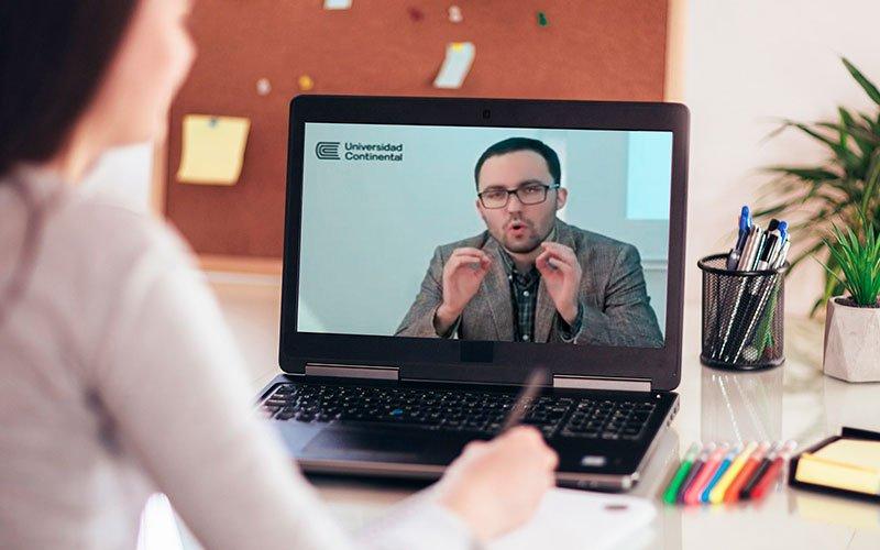 Universidad Continental continúa liderando la enseñanza en línea