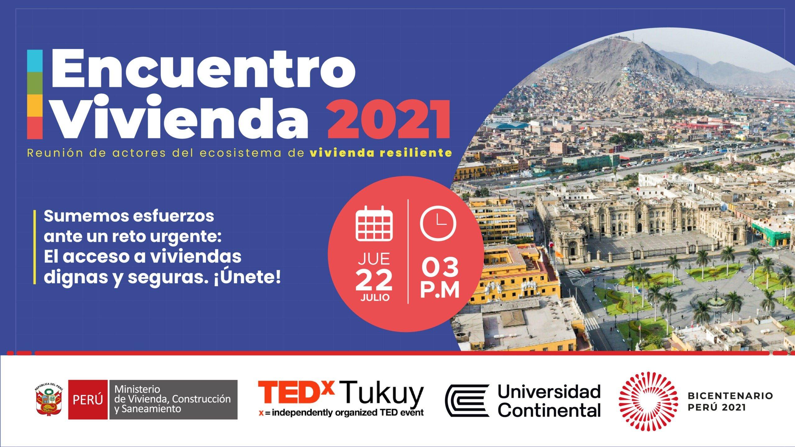 Encuentro Vivienda 2021: Hacia una mejor calidad de vida para más peruanos (as)